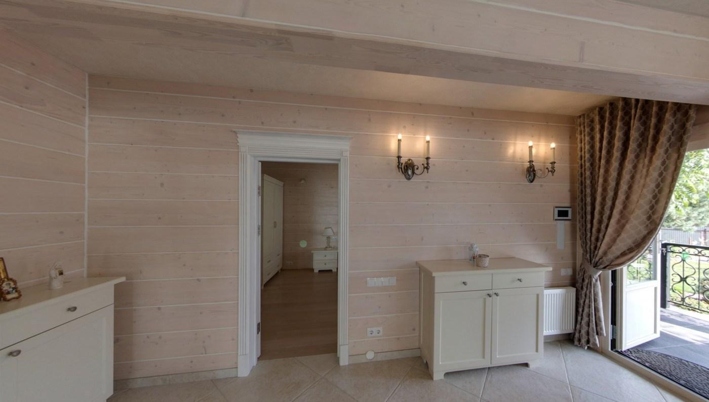 Bardzo dobryFantastyczny Wnętrze drewnianego domu NZ17